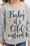 Baby It's Cold Outside Kids Top