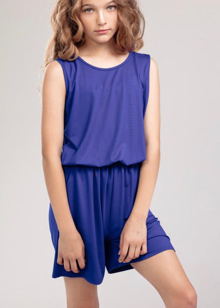 Tween Royal Romper