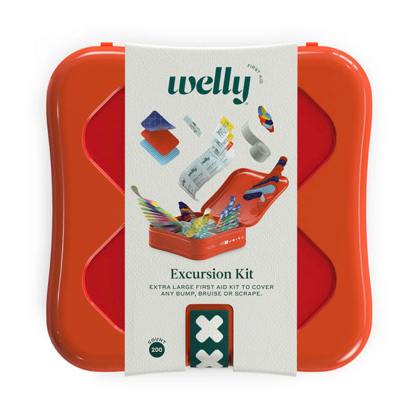 EXCURSION FIRST AID KIT 200 CT