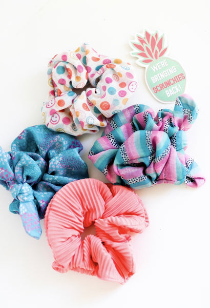 Scrunchies (Set of 4)
