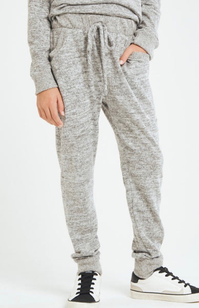 Two Tone Brushed Jogger
