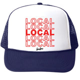 Local White/Navy Trucker Hat