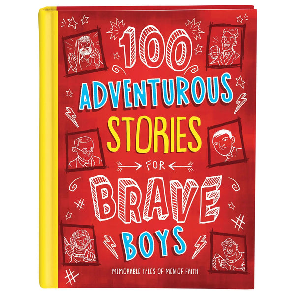 Adventurous stories for brave boys