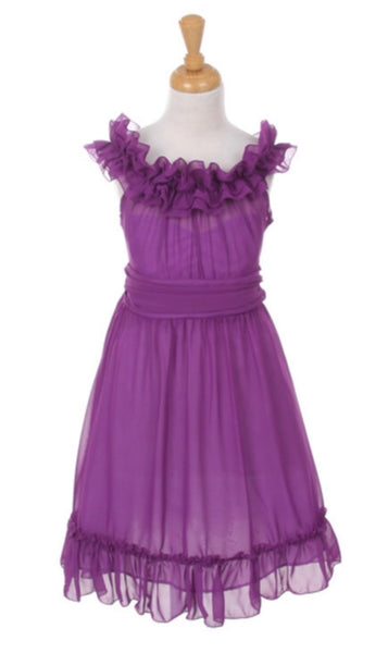 Ruffle dress. (More colors)