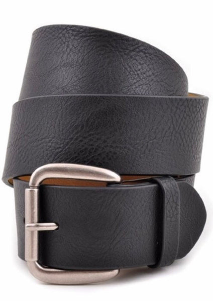 Black, Brown or Grey Leather Belts