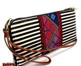 Aztec & Stripe Crossbody