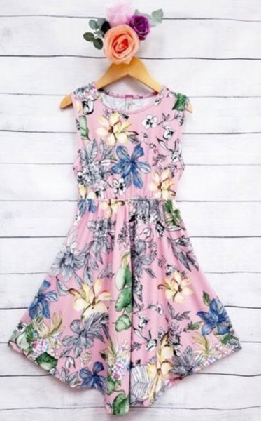 Kids Mauve Dress