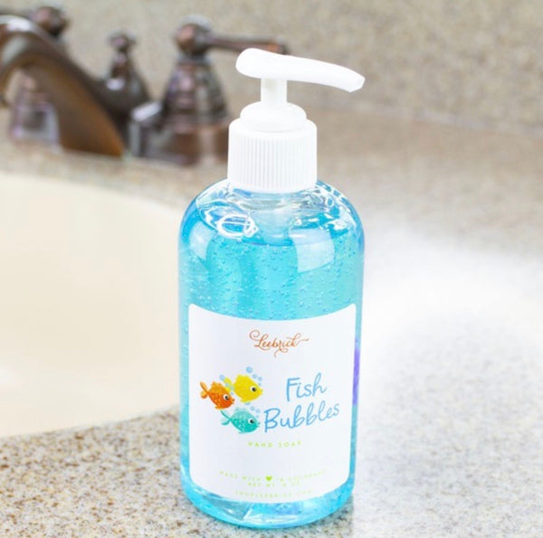 Fish Bubbles Hand Soap