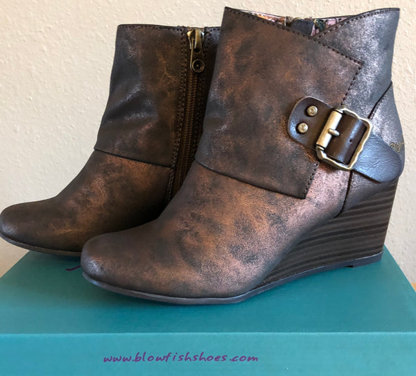 Blowfish Baldwin Metallic Bronze Boot