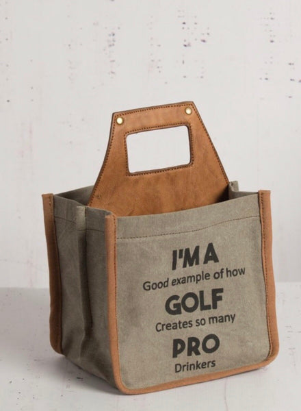Golf Pro Beer Caddy