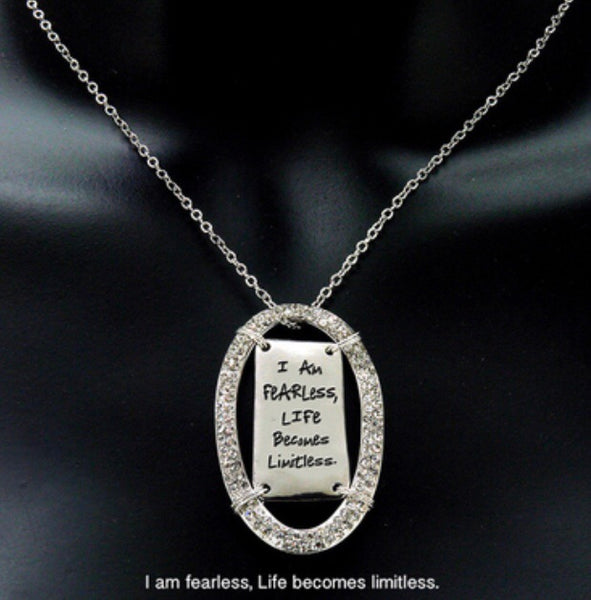 Fearless Pendant Necklace