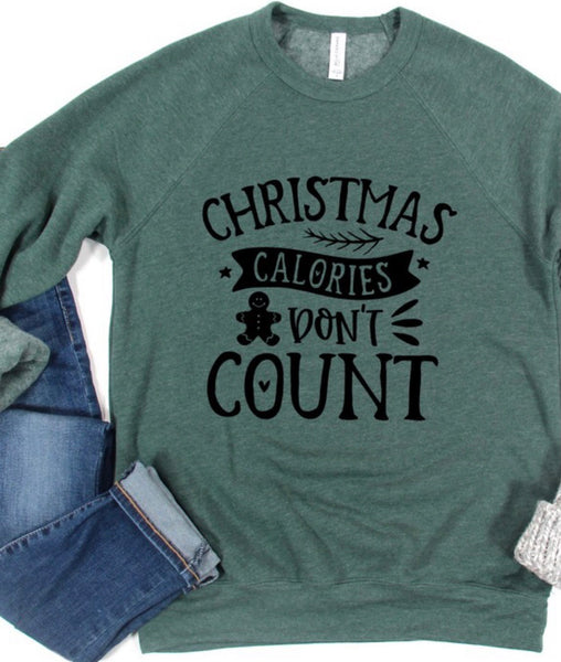 Christmas Calories Don't Count Pullover