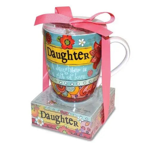 Daughter Mug With Memo Pad