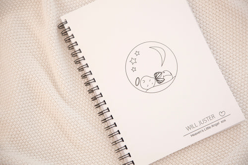 'Angel Baby' Memorial Keepsake Book (Printable Download)