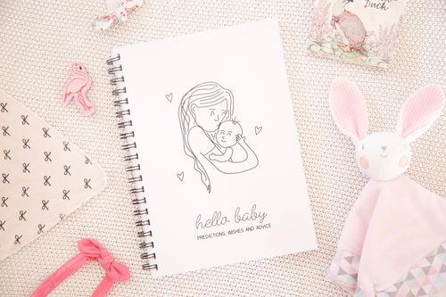 Mother's Cuddles Baby Shower Book