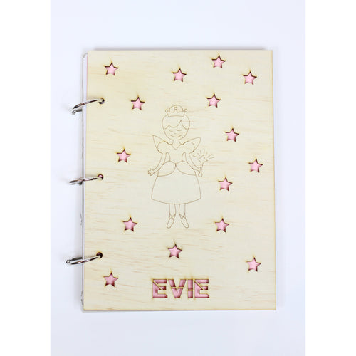 'Colour My Cover' Fairy notepad