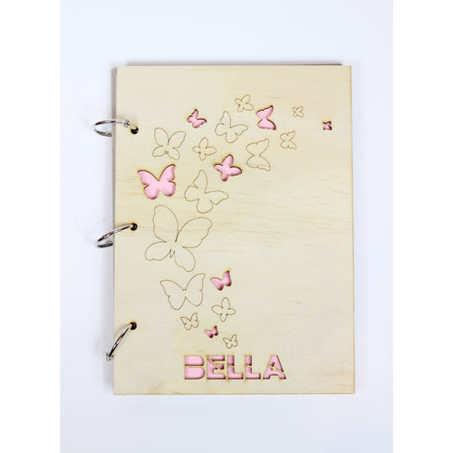 'Colour My Cover' Butterfly notepad