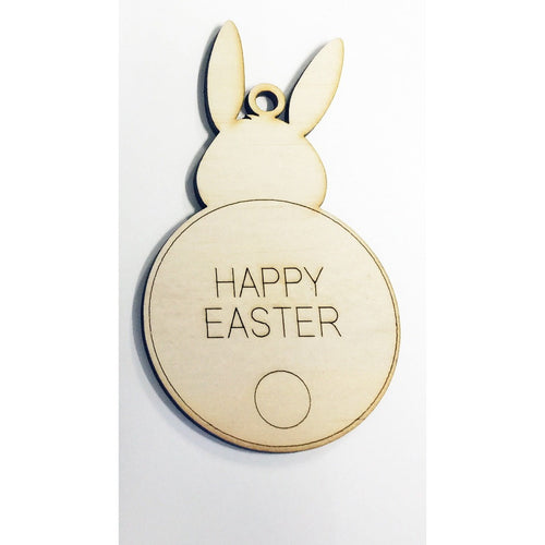 Easter Bunny tail Swing Tag