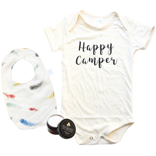 'Happy Camper' eco-friendly gift pack, Baby Shower Gift Pack