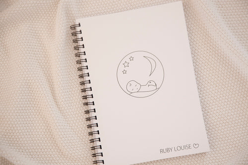 'Forever sleeping' Memorial Keepsake Book (Printable Download)