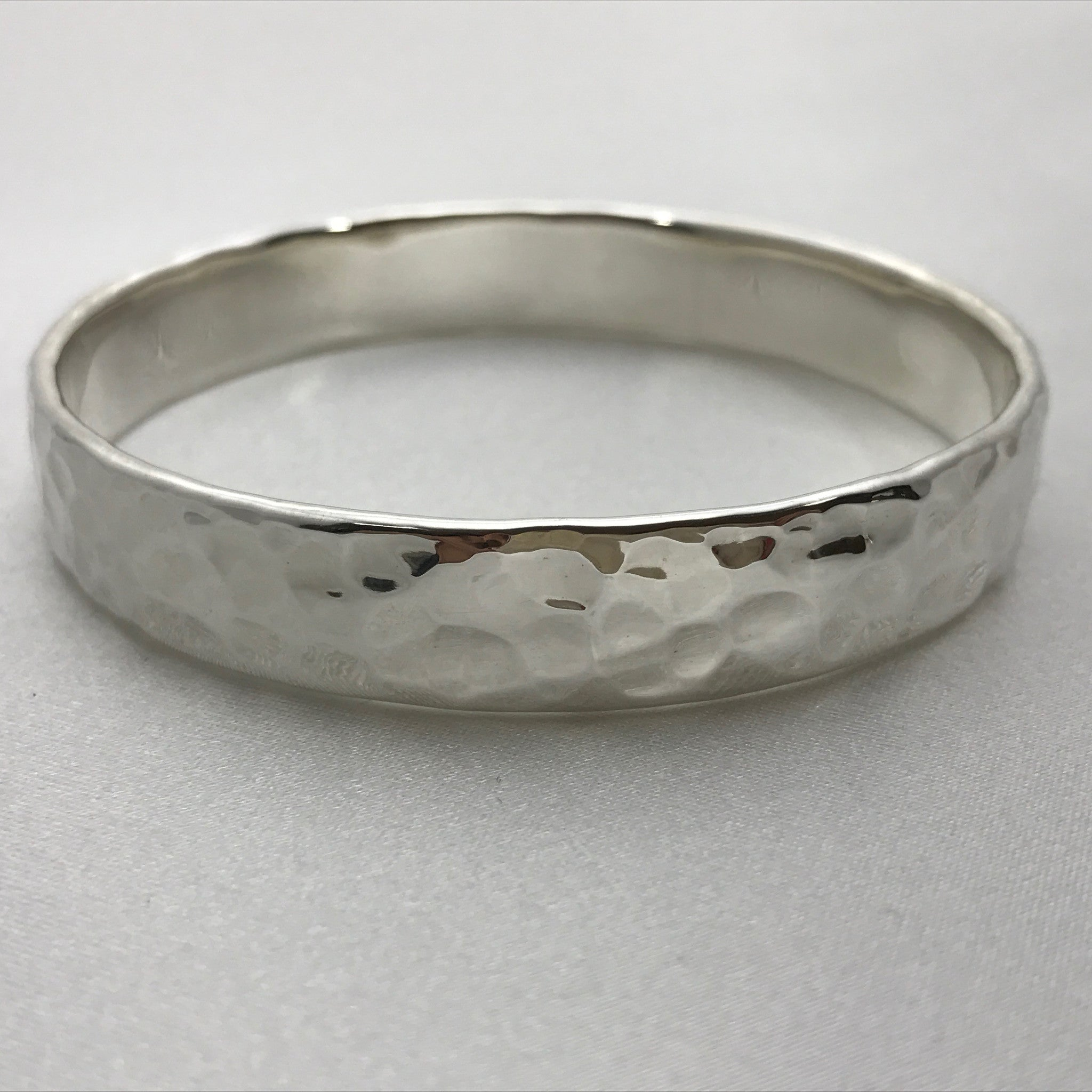 full hallmarks bangle excellent and con bangles vintage silver wide engraved heavy