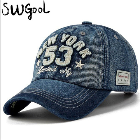 New Cotton Letter Brand Baseball Cap Men and Women