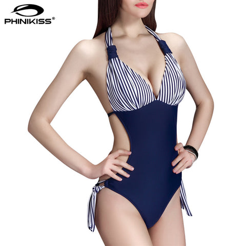 Royal Blue One Piece Swimsuit