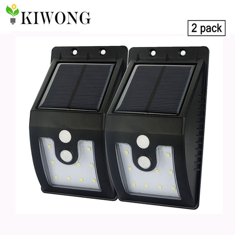 Solar Light Outdoor with Motion Sensor Solar lamps 300 Lumens Waterproof For Garden Security lamp