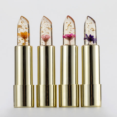 Kailijumei Lipstick Magic Color Temperature Change Moisturizer Lipstick original beautiful jelly flower lipstick