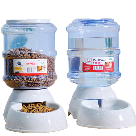 Automatic Pet Feeder Bowl 3.5L Water and Food