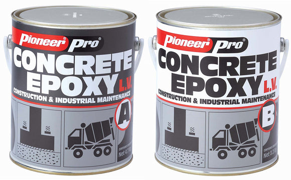 Concrete Repair Epoxy Thin Mortar; Concrete Epoxy LV (Low Viscosity)