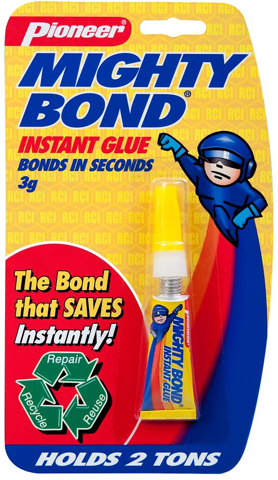 Super Glue; MightyBond