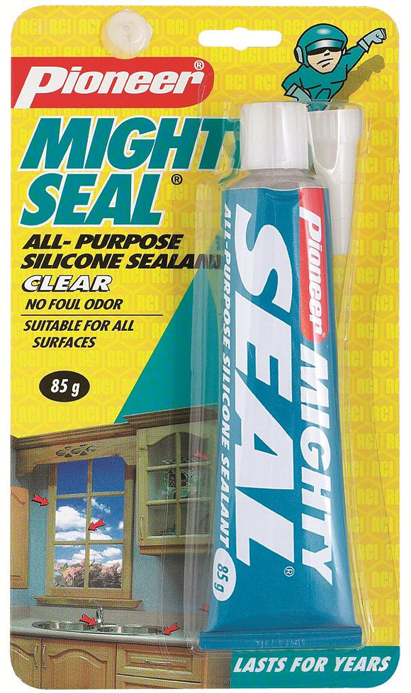 All Purpose Silicone Sealant; Mighty Seal