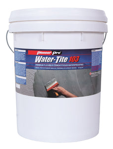 Waterproofing Membrane; Water-Tite 103- Pools & Ponds