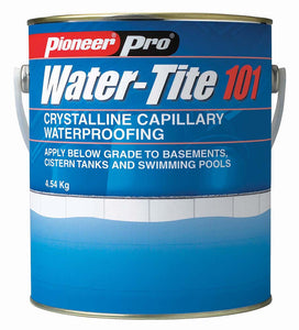 Waterproofing Mortar; Water-Tite 101 Crystalline Technology