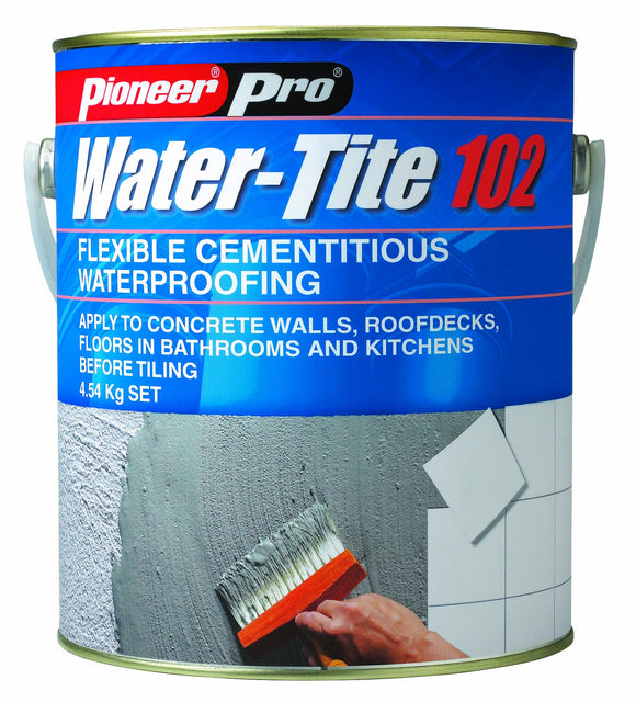 Water-tite 102 GESS flexible waterproofing membrane