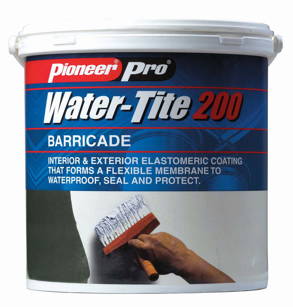 Waterproofing Paint; Water-Tite 200 Barricade- White