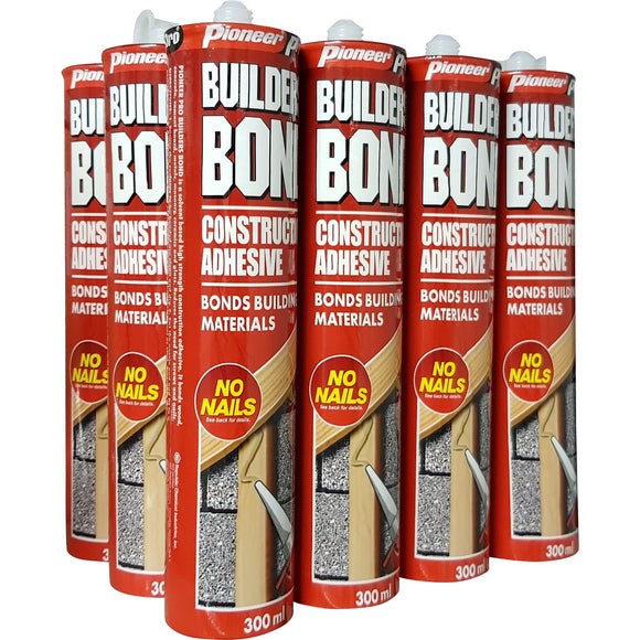 Your Gift: A Carton of 12 x Builder's Bond Construction Adhesive