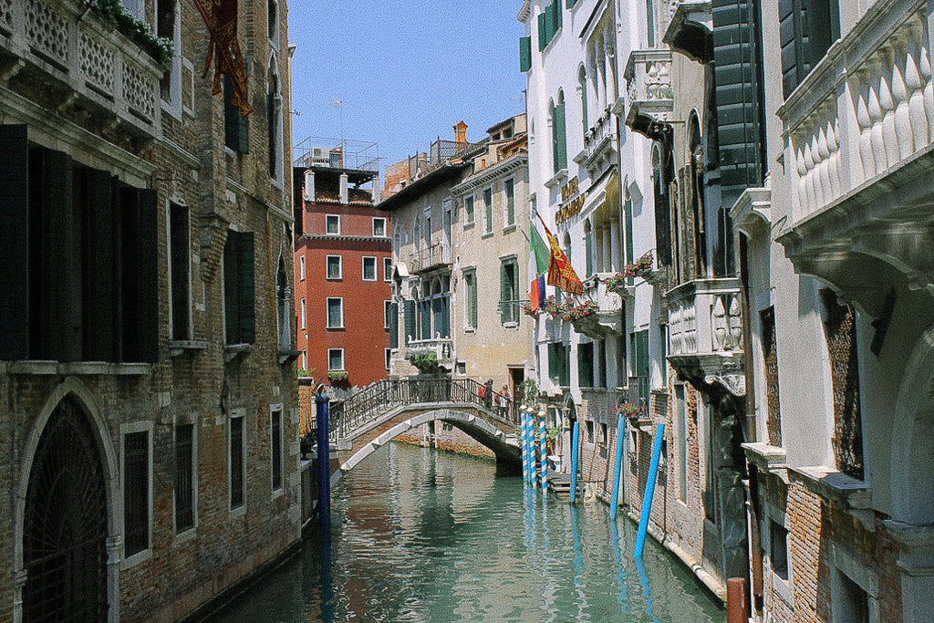 Canals and gondola ride in Venice, Italy