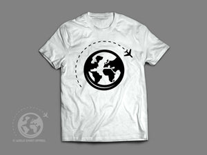 World Smart Logo Travel T-Shirt-World Smart Apparel