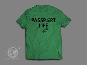World Smart Passport Life Travel T-shirt-World Smart Apparel