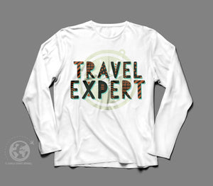 World Smart Travel Expert Long Sleeve Shirt-World Smart Apparel