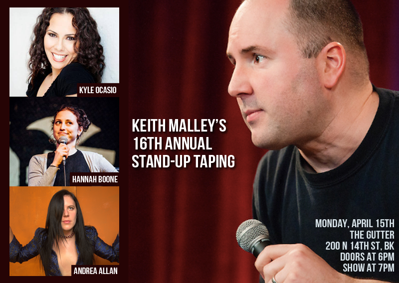 KEITH MALLEY'S BIRTHDAY STAND-UP EXTRAVAGANZA