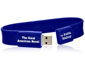 The Great American Novel - Audio Book USB Wristband