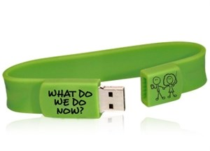 What Do We Do Now? - Audio Book USB Wristband