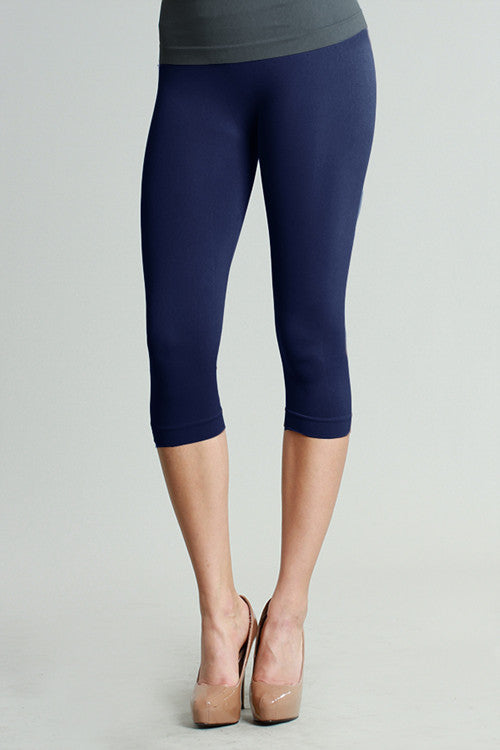 Capri Leggings - Nikibiki (ivory left)
