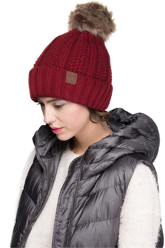 CC Fleece Lined Hat