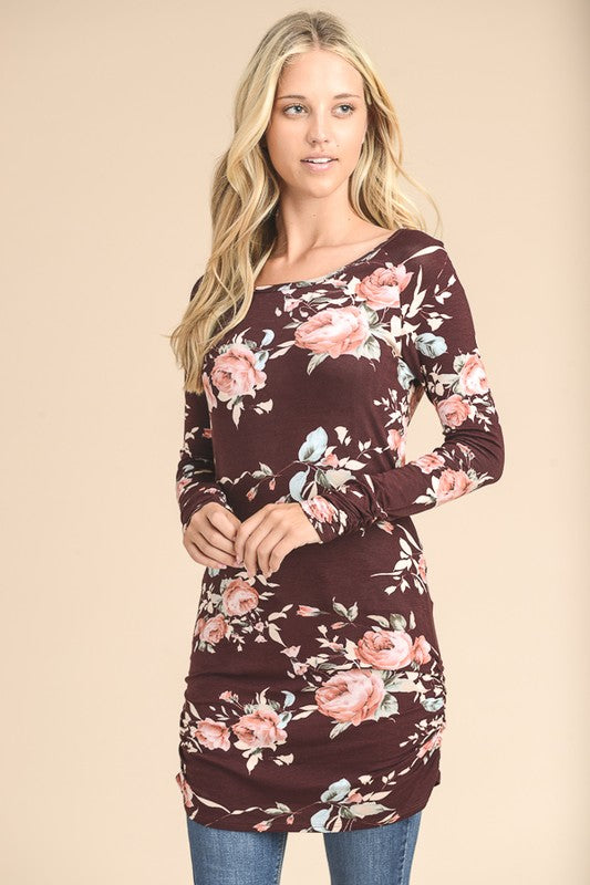 Floral Print Tunic (lg left)