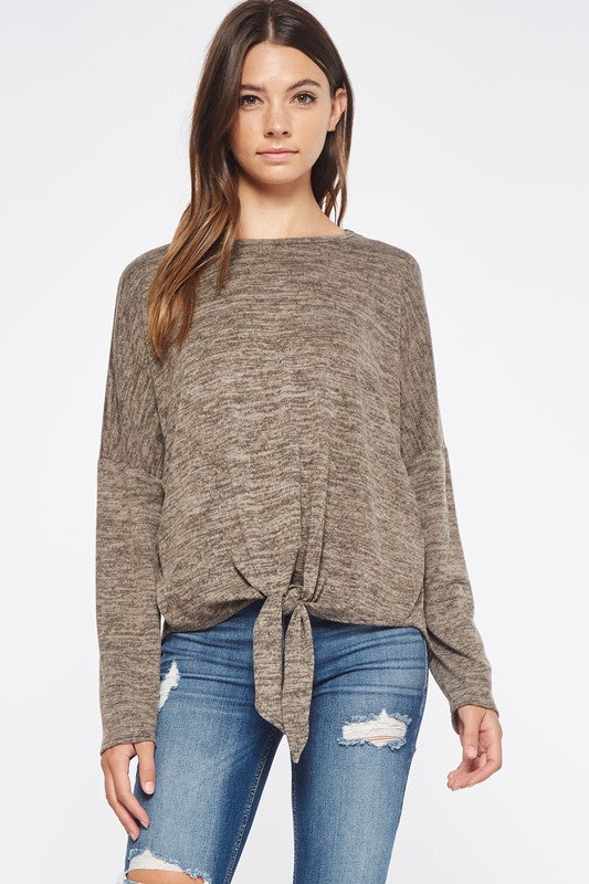 Two Tone Sweater Top (lg left)