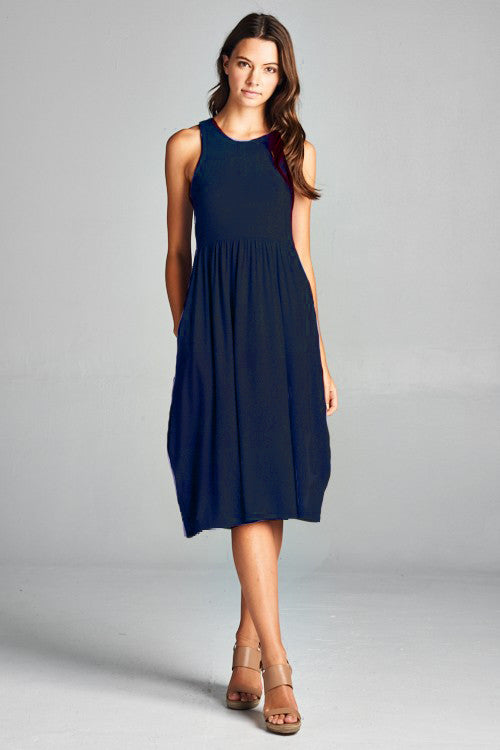 Racerback Midi Dress S-XL - Restocked!
